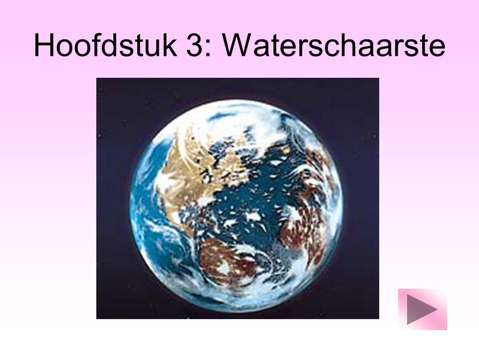 Hoofdstuk 3: Waterschaarste