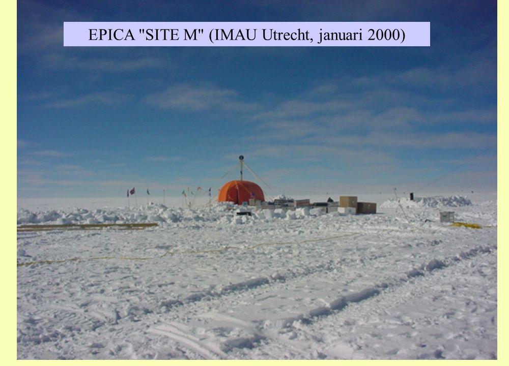 EPICA SITE M (IMAU Utrecht, januari 2000)