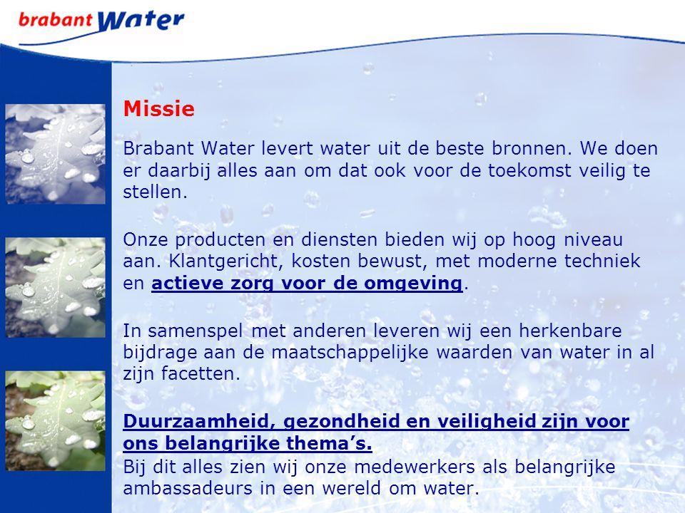 Missie Brabant Water levert water uit de beste bronnen.