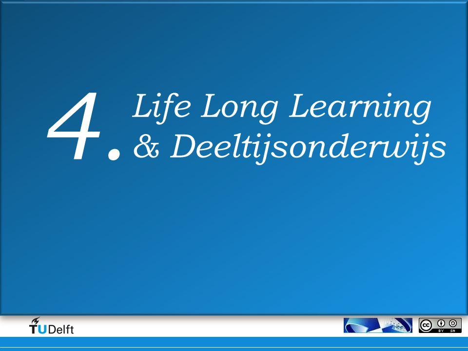 Life Long Learning & Deeltijsonderwijs 4.