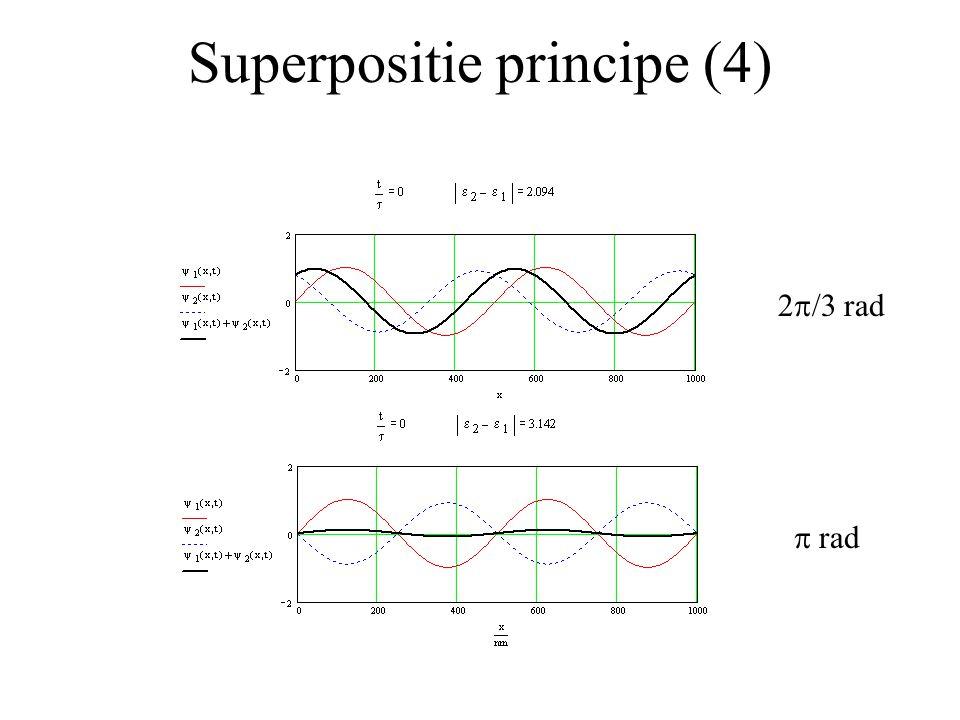 Superpositie principe (4)  rad 2  /3 rad
