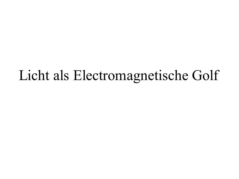 Licht als Electromagnetische Golf