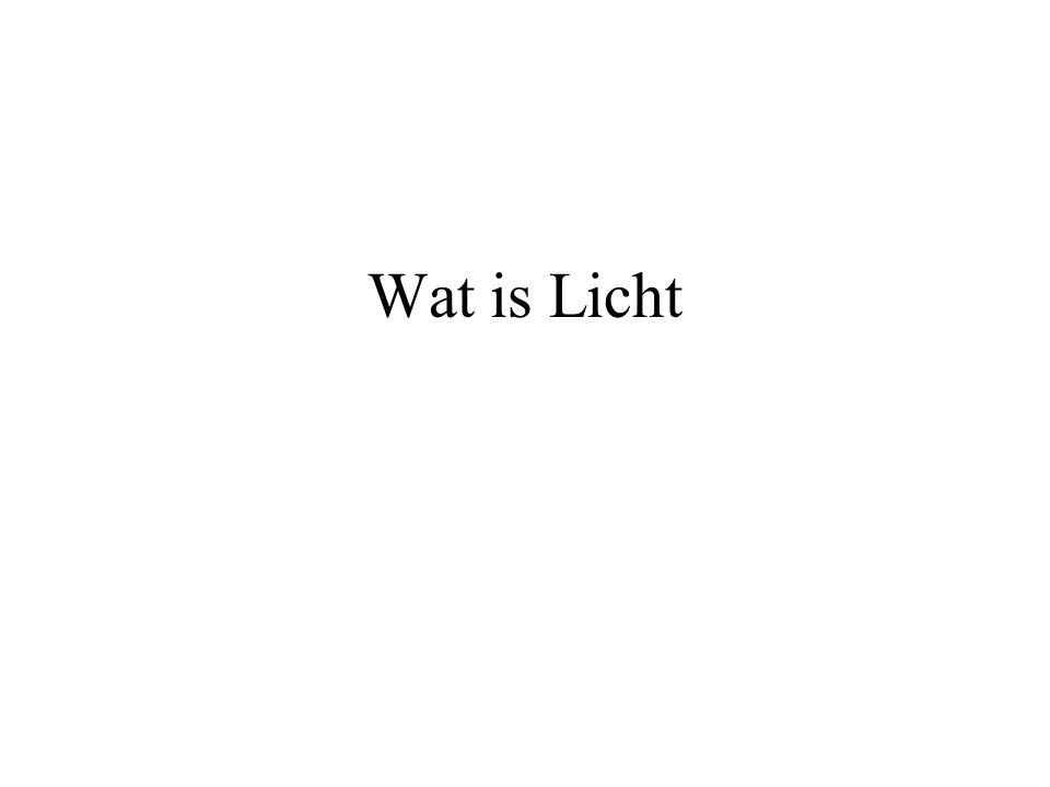 Wat is Licht
