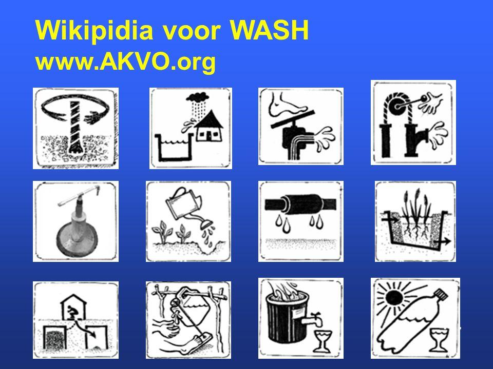 Wikipidia voor WASH www.AKVO.org …