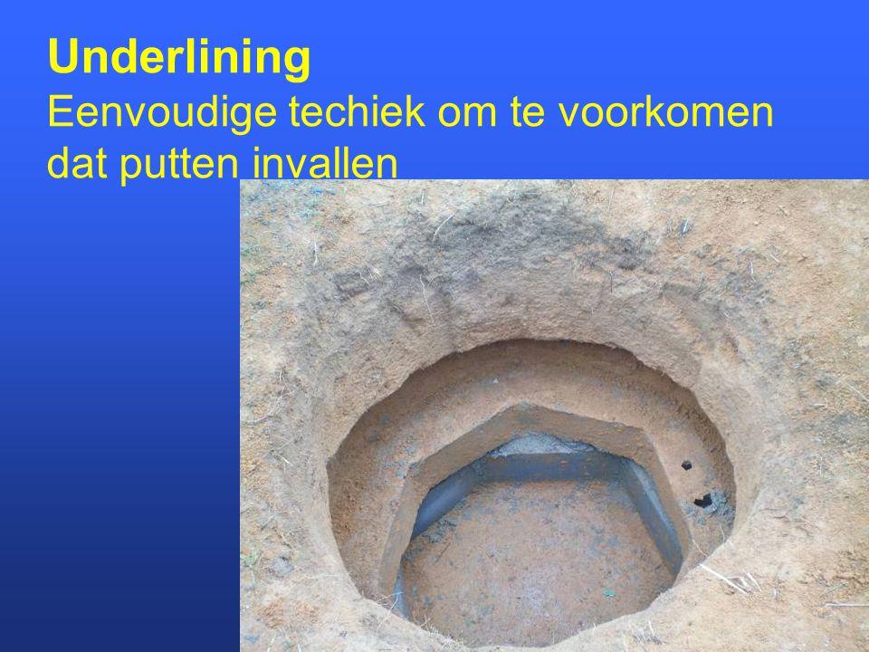 Handmatig putten boren Rota sludge to 40 m deep Baptist to 80 m deep Cost $150-1000 incl.