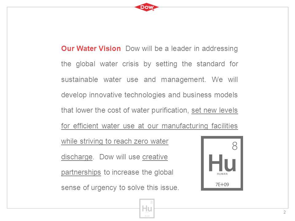 13 E4Water project 20 partners uit Europese Chemische Industrie en kennisinstellingen - mogelijk via samenwerking SusChem/Cefic en WssTP in EU FP7 programma Eco-efficient management of industrial water Demonstratie pilot Milde Ontzilting (2.3 miljoen €)  productie van proceswater (< 0.4 €/m 3 ) uit diverse brak water bronnen – vanaf 1Q 2012 (4 jaar) – locatie Evides waterfabriek nabij Dow Dow, Evides, TNO, TU Delft, Fachhochschule Muttenz (CH)