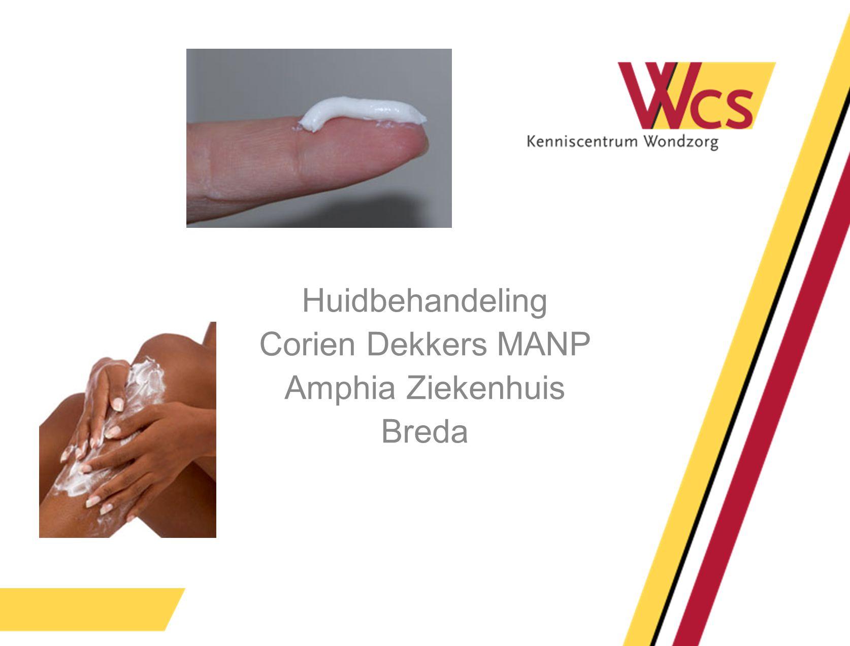 Huidbehandeling Corien Dekkers MANP Amphia Ziekenhuis Breda