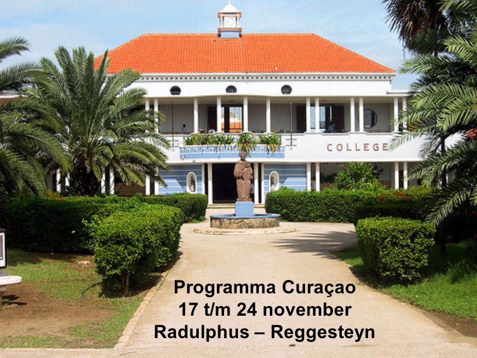 vrijdag 16 november aankomst KL785 15.25 uur aankomst op Rudolphus College (16.30- 17.00 uur) - weekprogramma en welkom-tas voor alle betrokkenen - uitleg dhr.