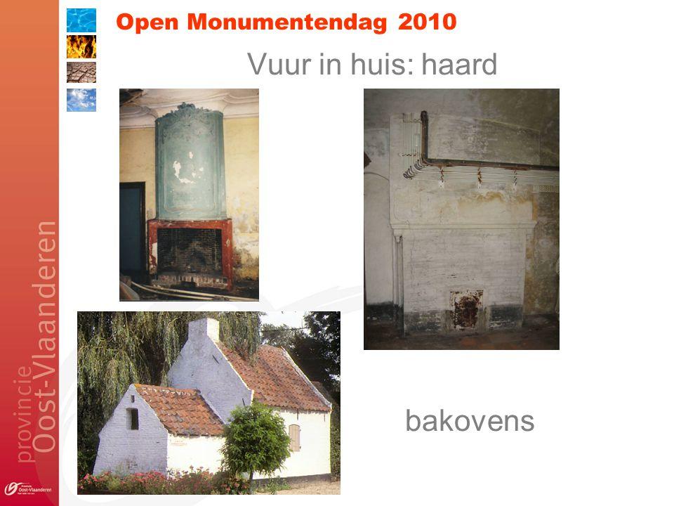 Open Monumentendag 2010 Vuur in huis: haard bakovens