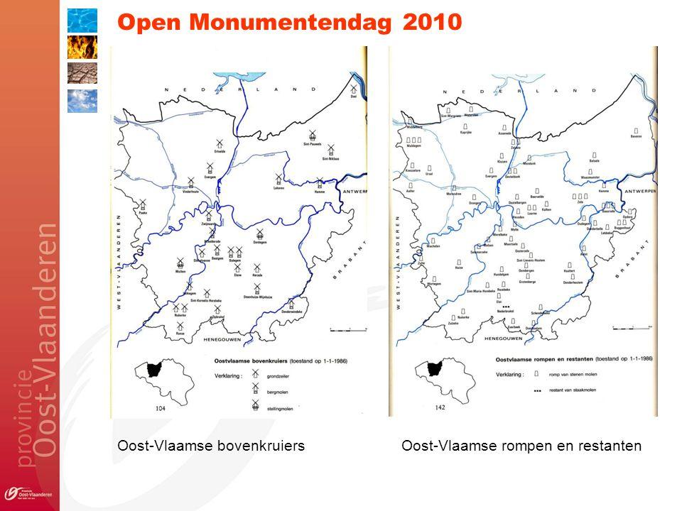 Open Monumentendag 2010 Oost-Vlaamse bovenkruiersOost-Vlaamse rompen en restanten