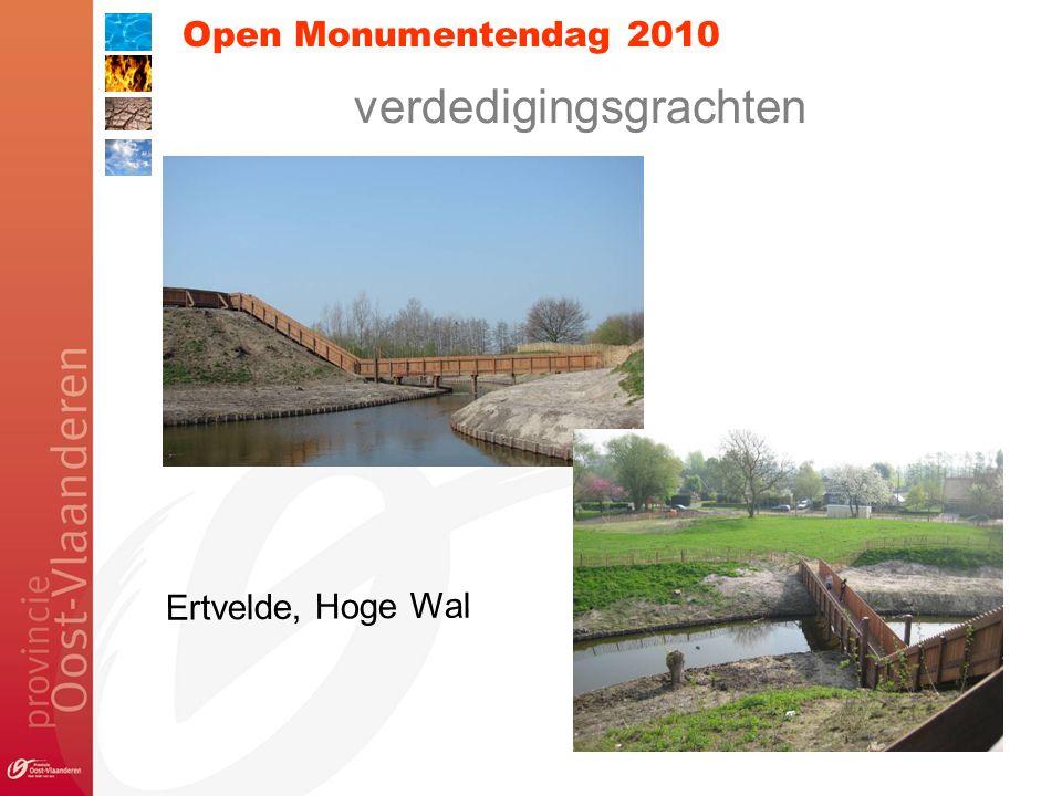 Open Monumentendag 2010 verdedigingsgrachten Ertvelde, Hoge Wal