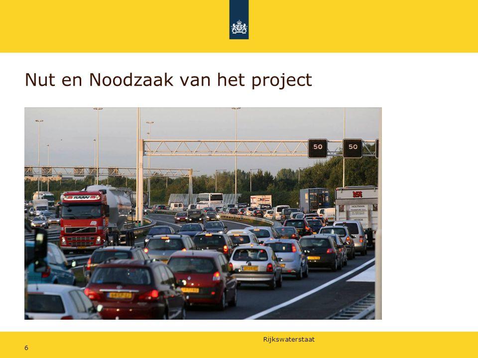 Rijkswaterstaat 6 Nut en Noodzaak van het project