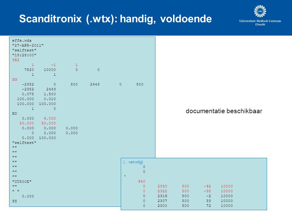 Scanditronix (.wtx): handig, voldoende effe.wda