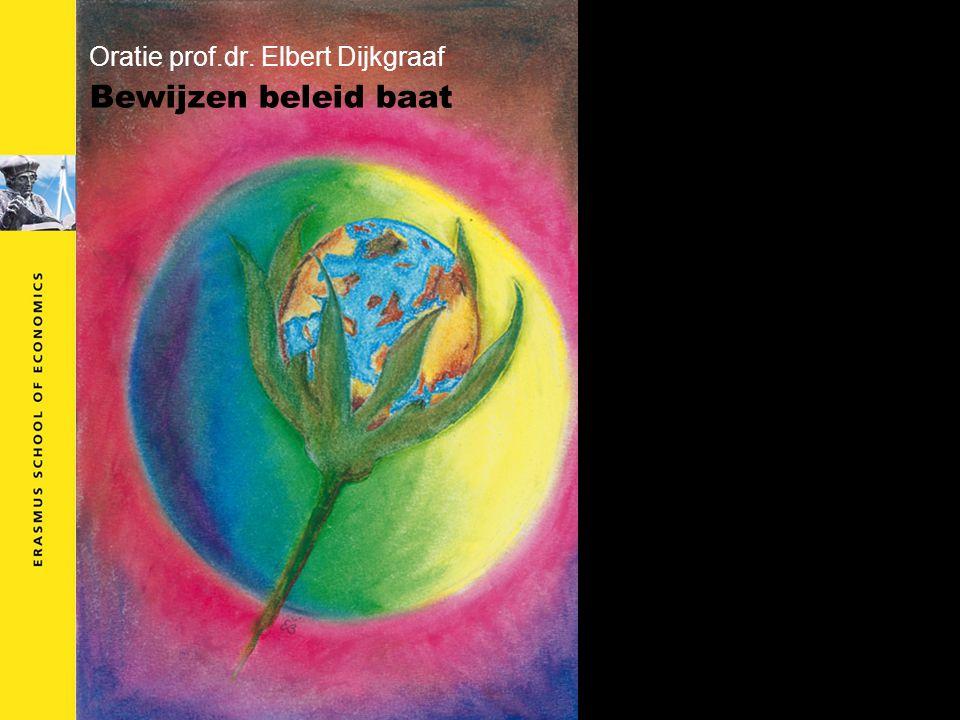 Oratie prof.dr. Elbert Dijkgraaf Bewijzen beleid baat