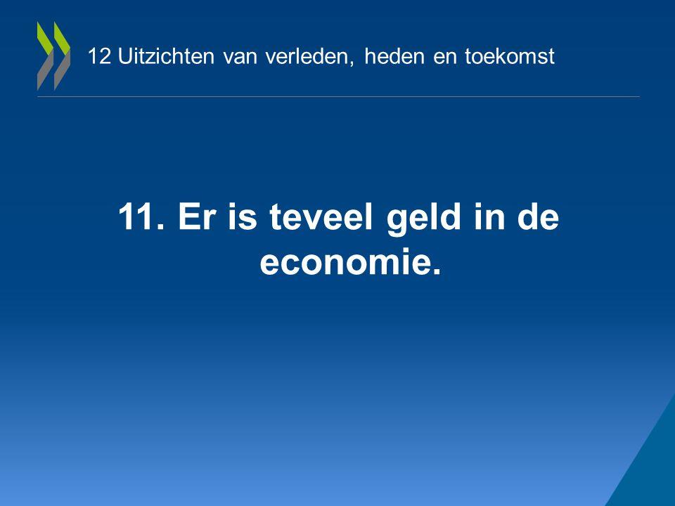 12 Uitzichten van verleden, heden en toekomst 11. Er is teveel geld in de economie.