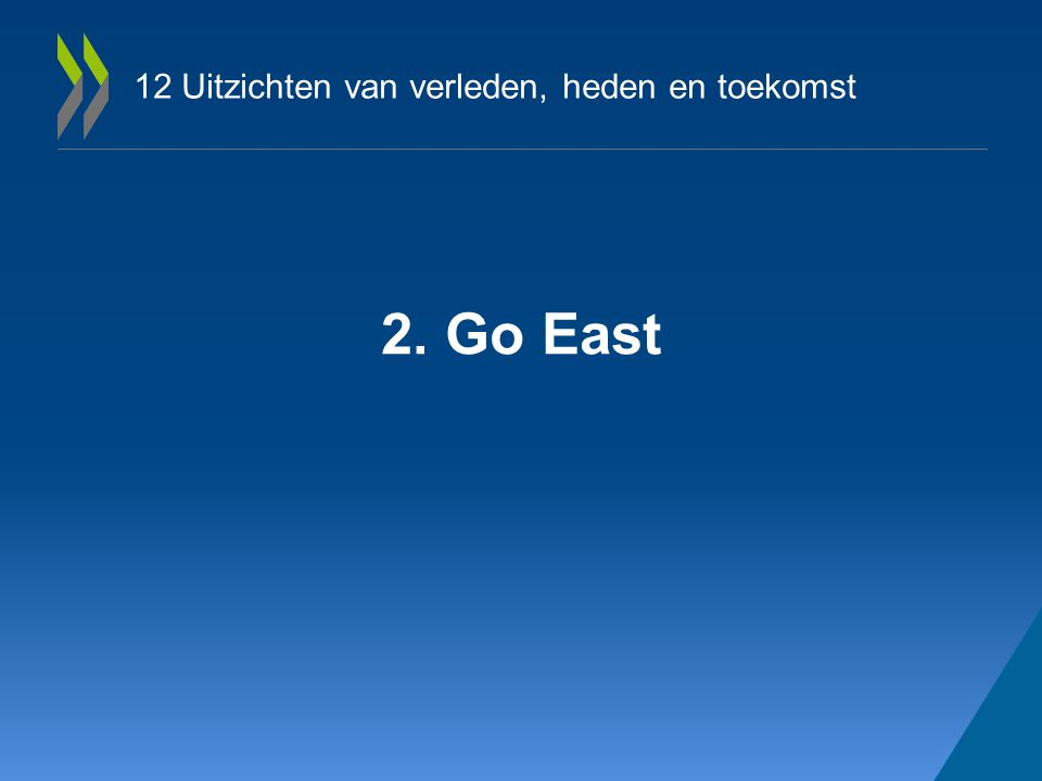 12 Uitzichten van verleden, heden en toekomst 2. Go East
