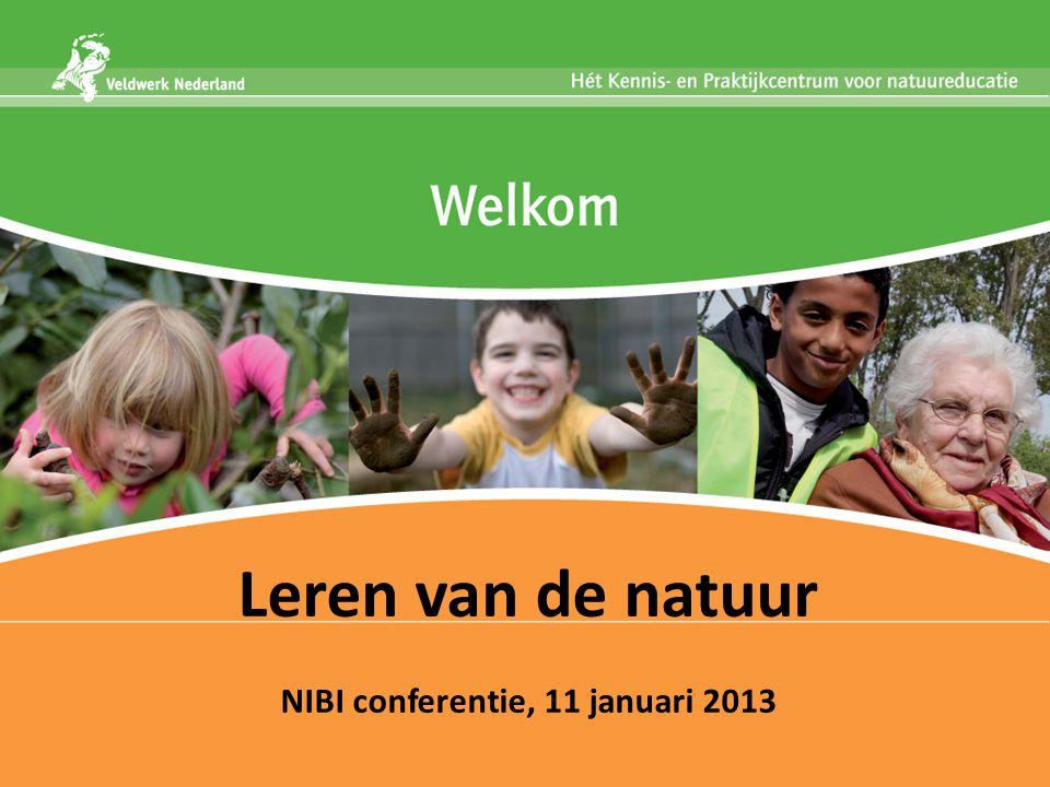 Leren van de natuur NIBI conferentie, 11 januari 2013