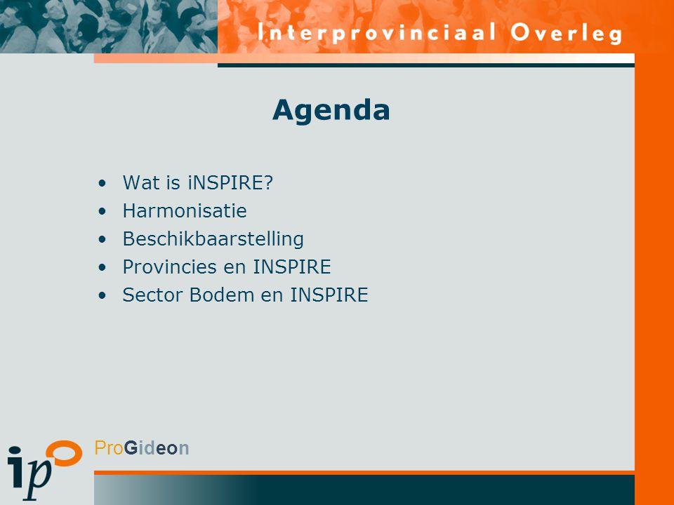 Agenda Wat is iNSPIRE.