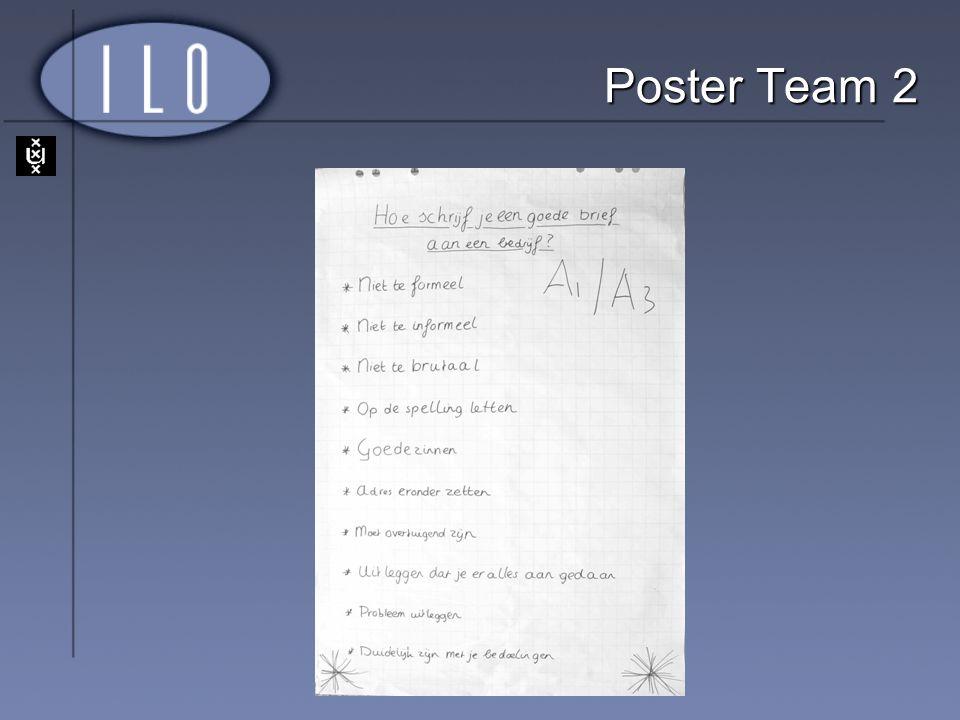Poster Team 2