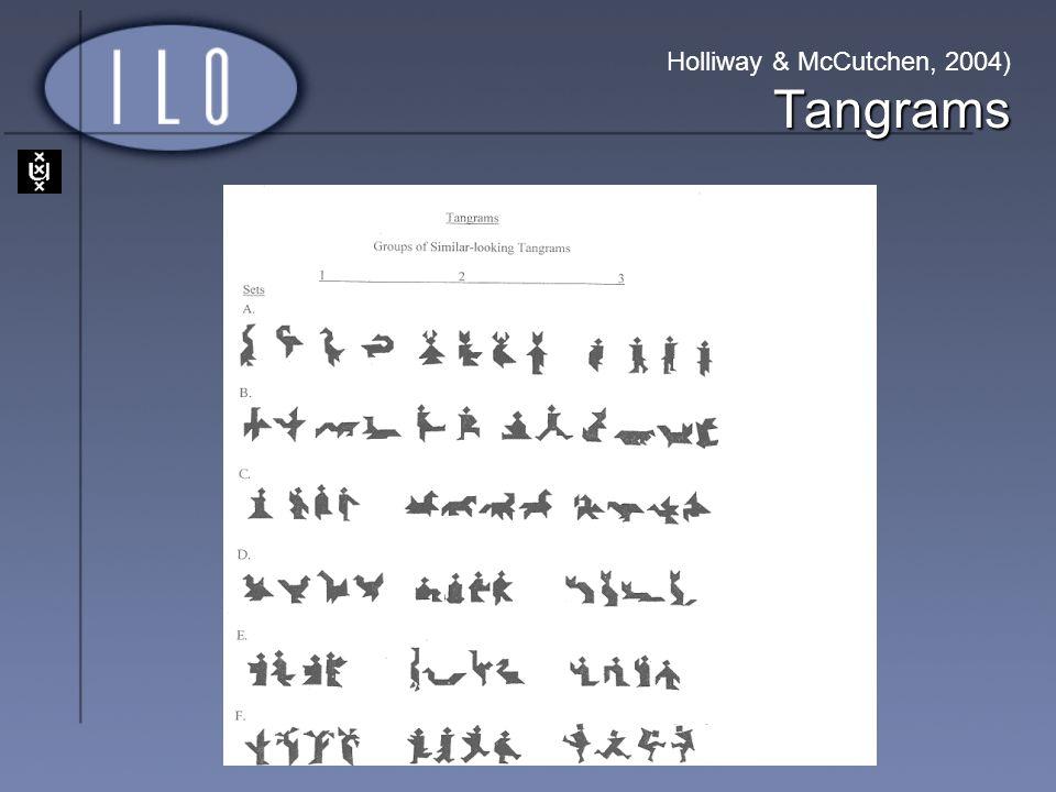 Tangrams Holliway & McCutchen, 2004) Tangrams