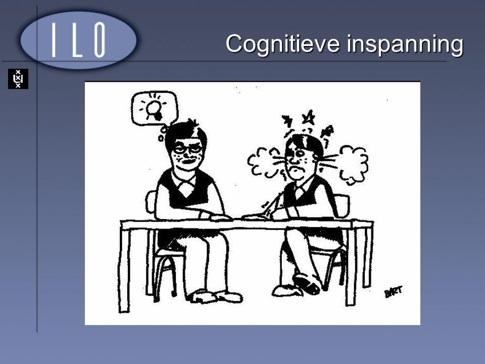 Cognitieve inspanning