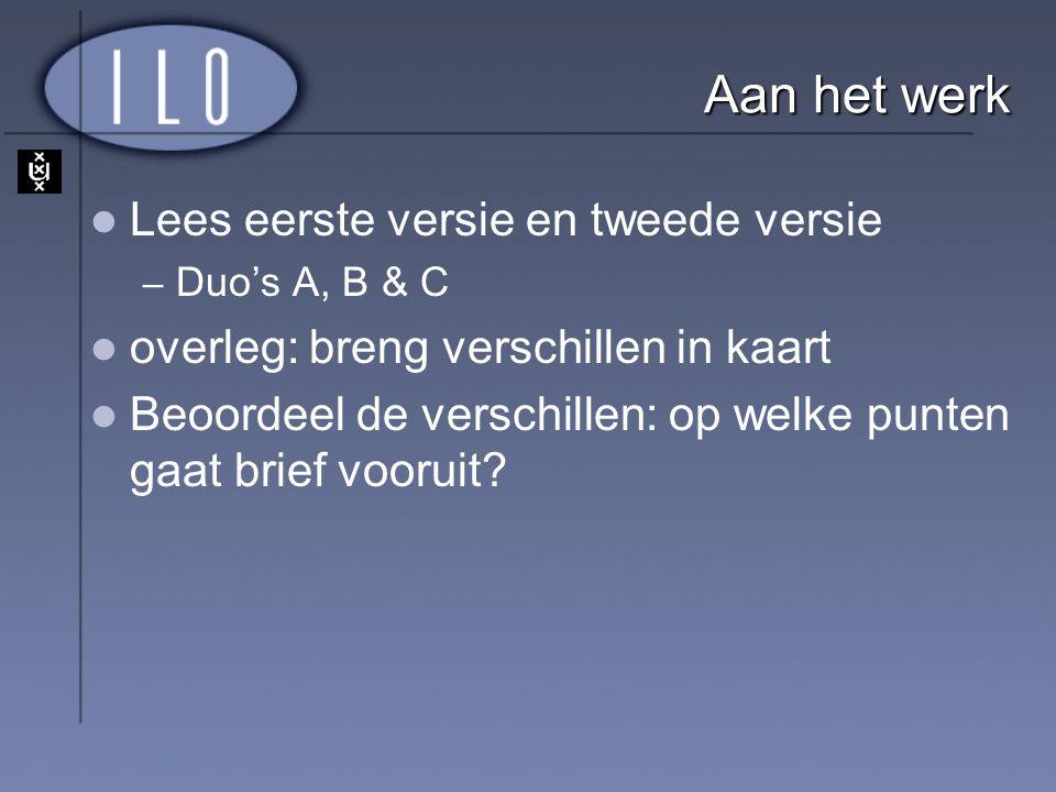 Text Books L1- Dutch: Strategy Exercises