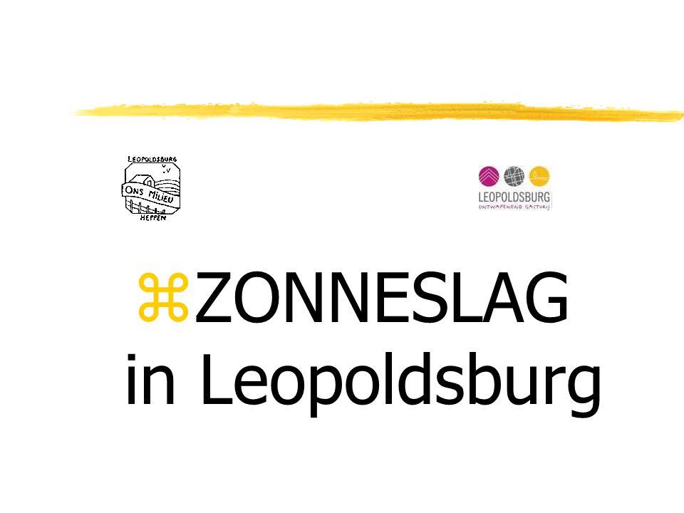 zZONNESLAG in Leopoldsburg