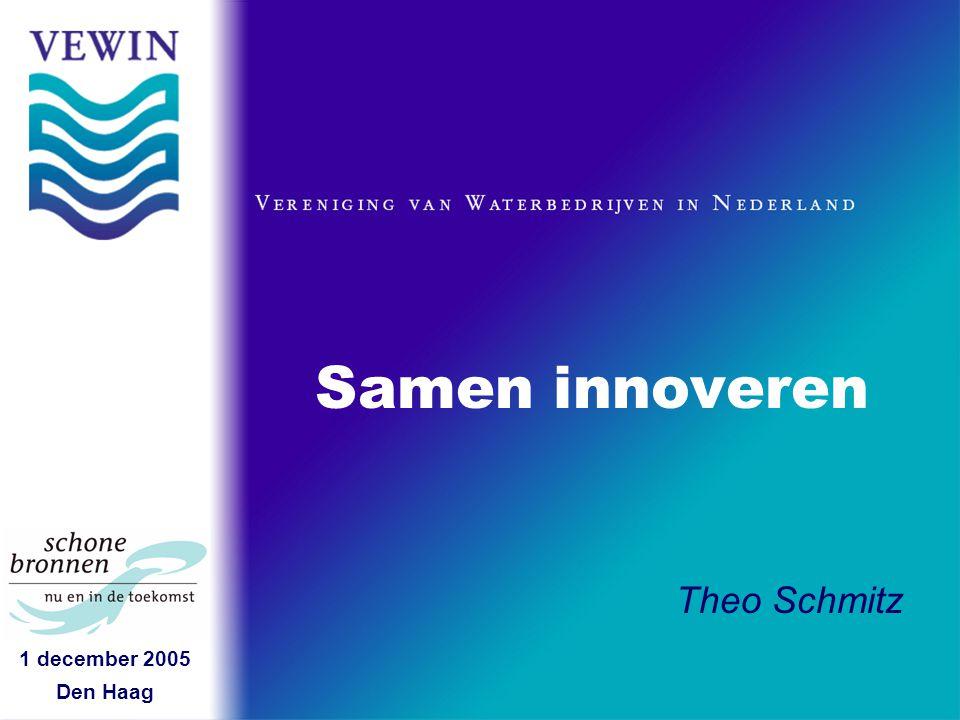 1 december 2005 Den Haag Samen innoveren Theo Schmitz