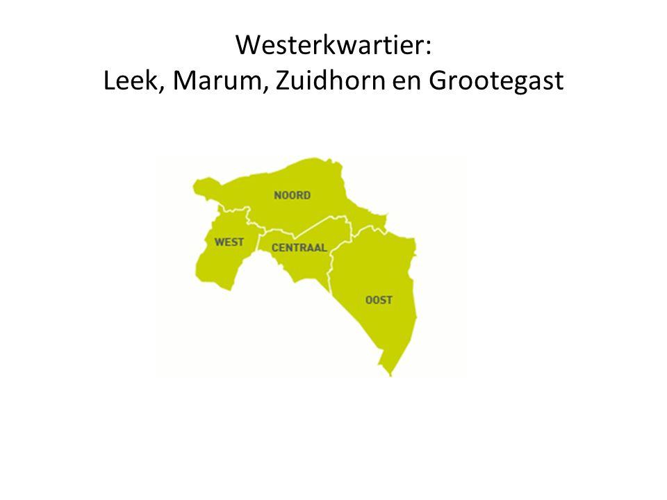 Westerkwartier: Leek, Marum, Zuidhorn en Grootegast