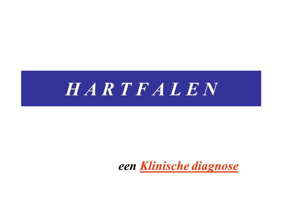 H A R T F A L E N een Klinische diagnose