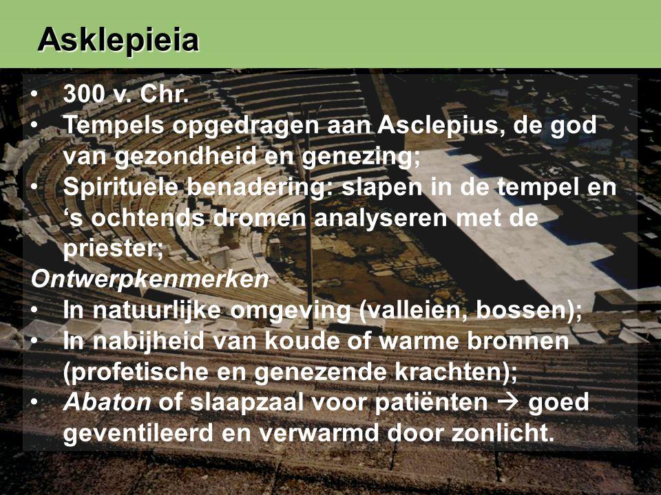 10 Asklepieia 300 v. Chr.