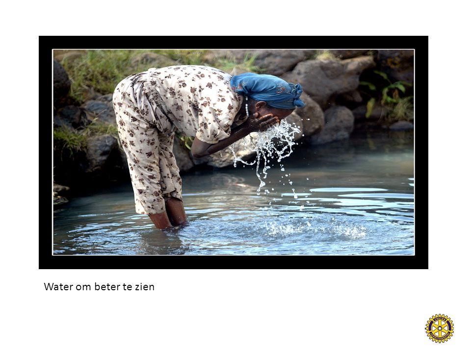 Water om beter te zien