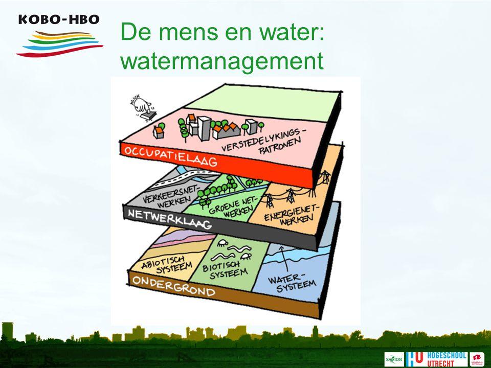 De mens en water: watermanagement
