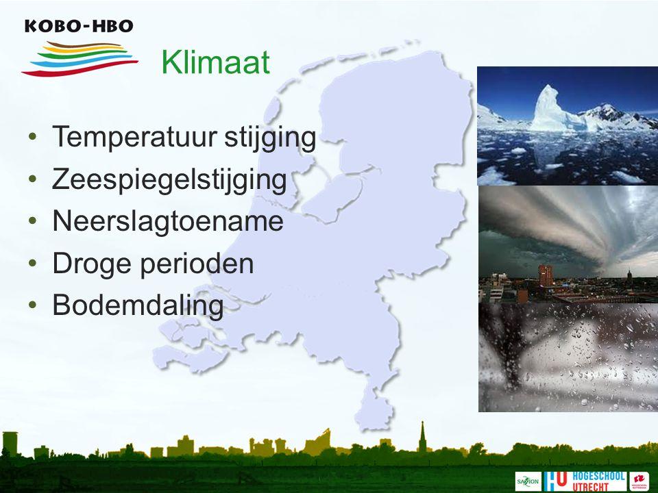 Nederland en water UITDAGINGEN