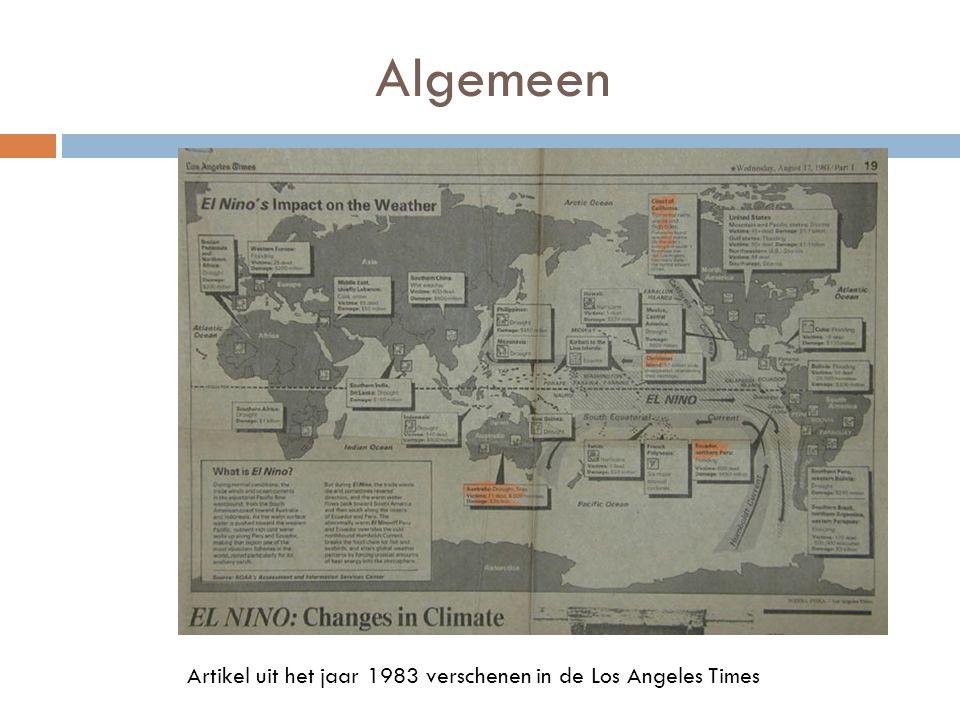 Algemeen Artikel uit het jaar 1983 verschenen in de Los Angeles Times