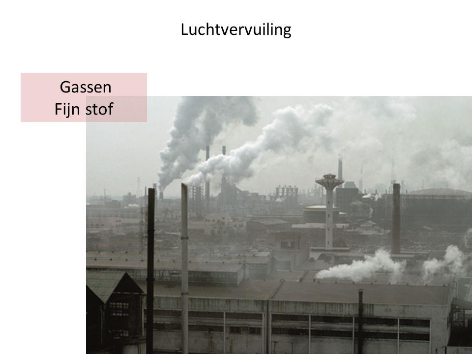 50% CO 2 afkomstig van de industrie + energie Andere bronnen van broeikasgassen?