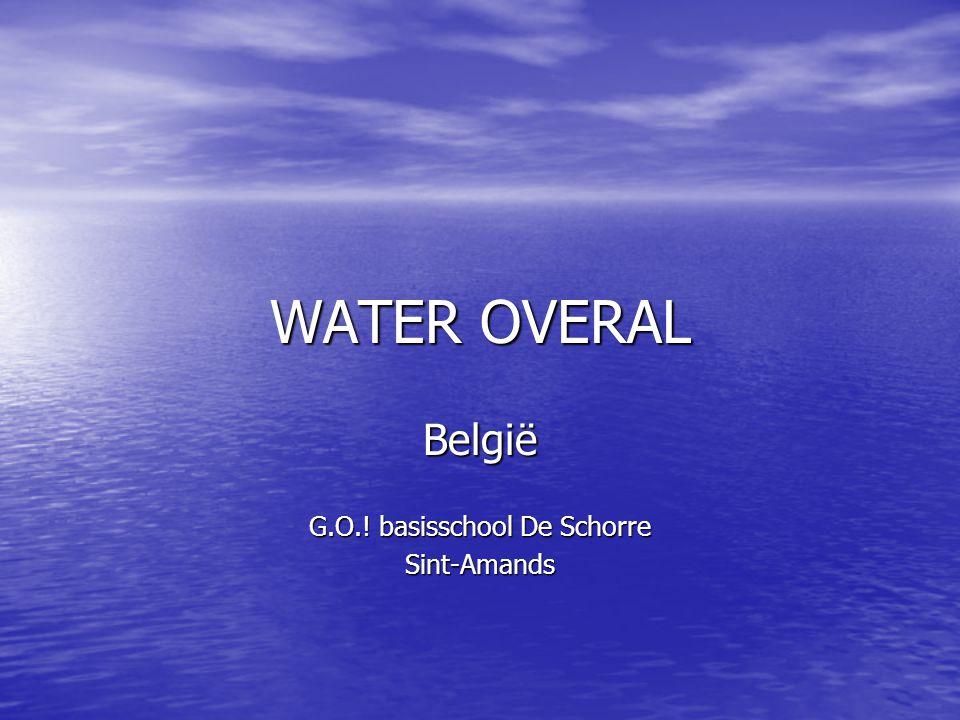 WATER OVERAL België G.O.! basisschool De Schorre Sint-Amands