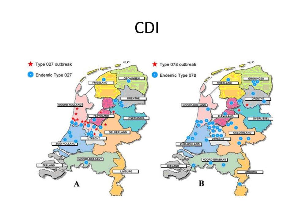 Dieren Clostridium difficile infection in the community: a zoonotic disease.