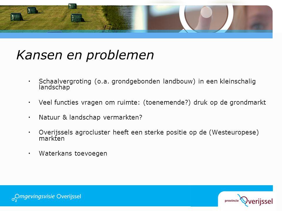 Kansen en problemen  Schaalvergroting (o.a.
