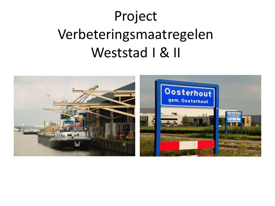 Project Verbeteringsmaatregelen Weststad I & II