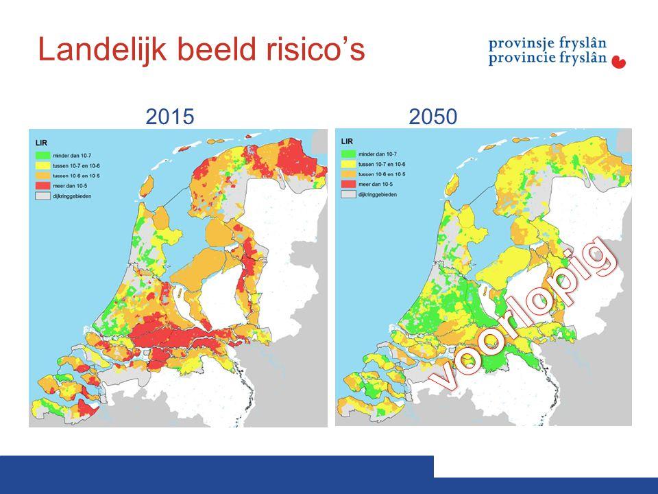 Landelijk beeld risico's 20152050