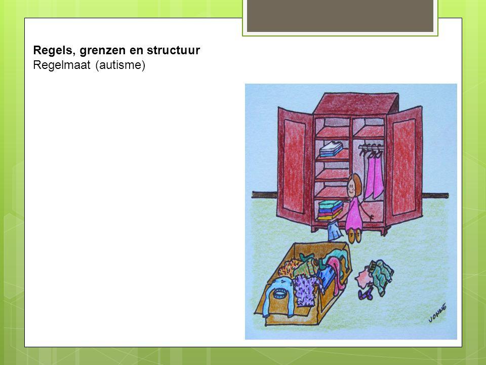 Regels, grenzen en structuur Regelmaat (autisme)