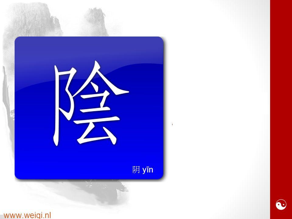  www.weiqi.nl 阝 heuvel 今 aanwezig 云 wolken 阴 yīn