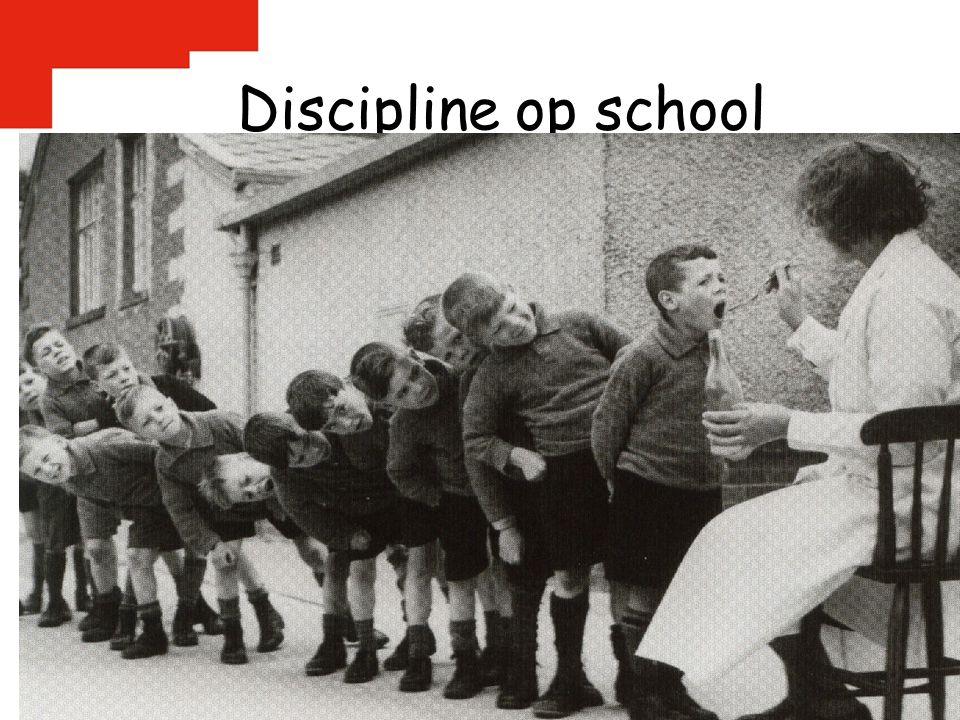Discipline op school