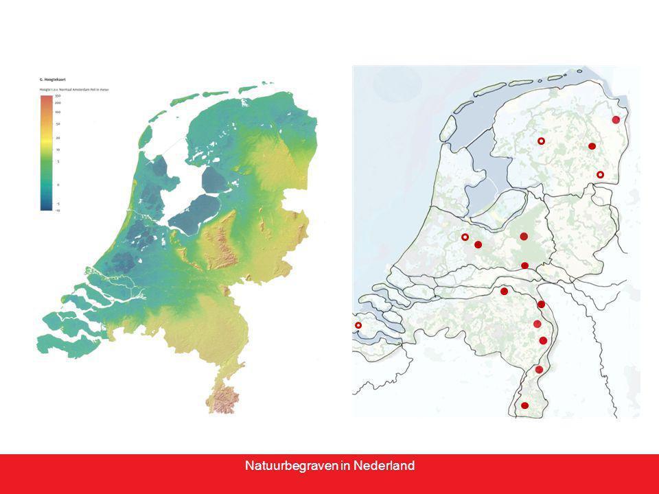 Natuurbegraven in Nederland Natuurbegraven en natuurontwikkeling, een gelukkig stel -Natuur -Landschapsontwikkeling/ -herstel -Herbestemming erfgoed -Recreatieve ontsluiting -Locale economie -Betekenis
