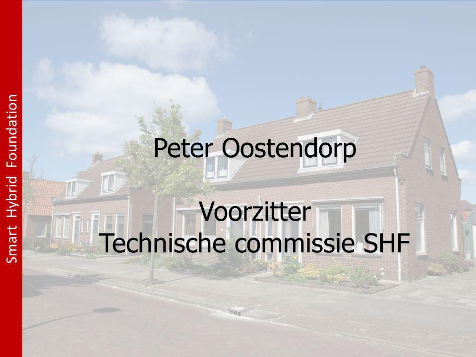 Peter Oostendorp Voorzitter Technische commissie SHF Peter Oostendorp Voorzitter Technische commissie SHF Smart Hybrid Foundation