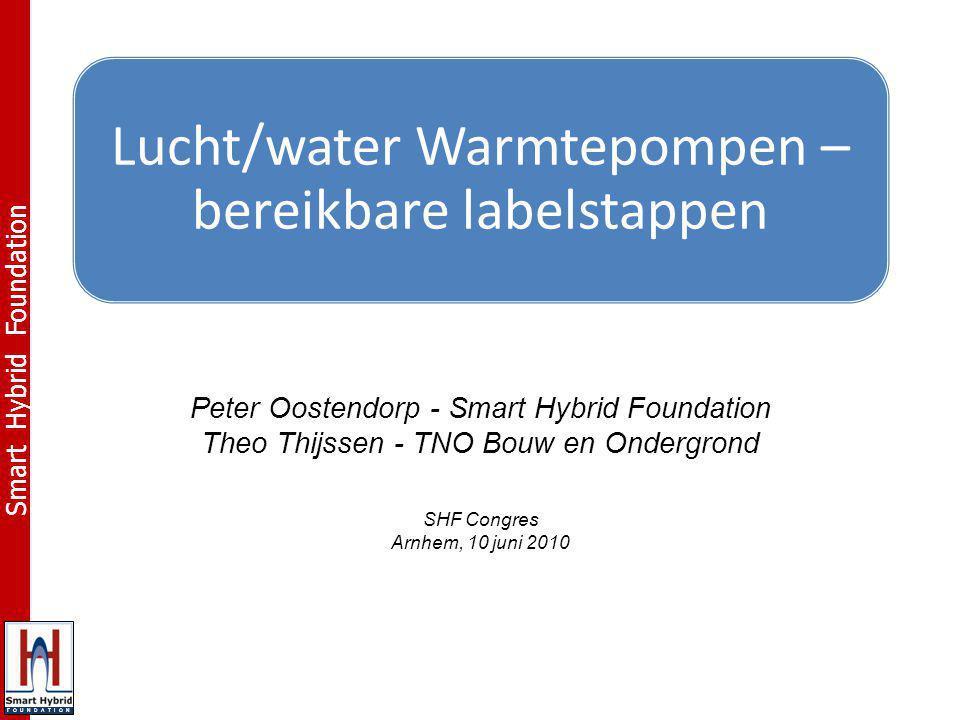 F O U N D A T I O N Peter Oostendorp - Smart Hybrid Foundation Theo Thijssen - TNO Bouw en Ondergrond SHF Congres Arnhem, 10 juni 2010
