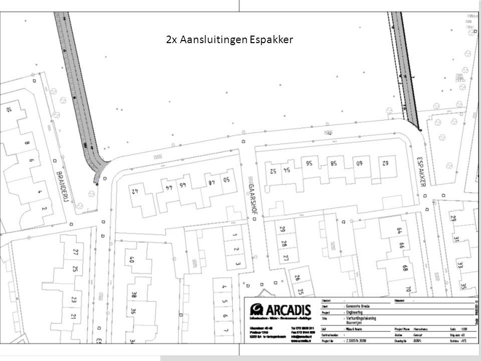 Waterakkers BredaDia 6 2x Aansluitingen Espakker