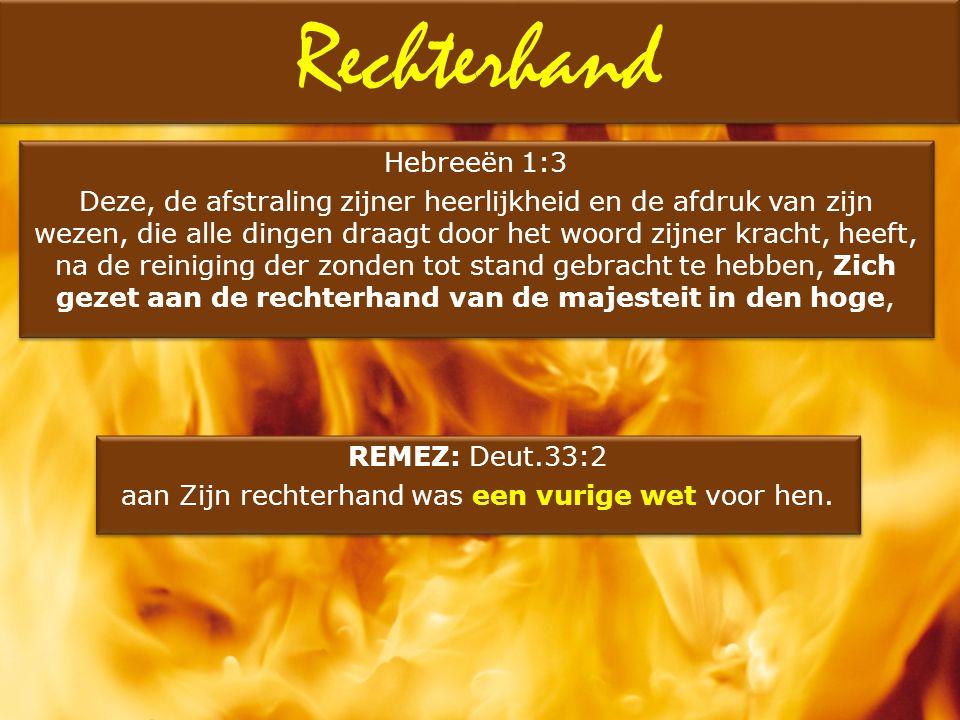 Hebreeën 1:3 Deze, de afstraling zijner heerlijkheid en de afdruk van zijn wezen, die alle dingen draagt door het woord zijner kracht, heeft, na de re