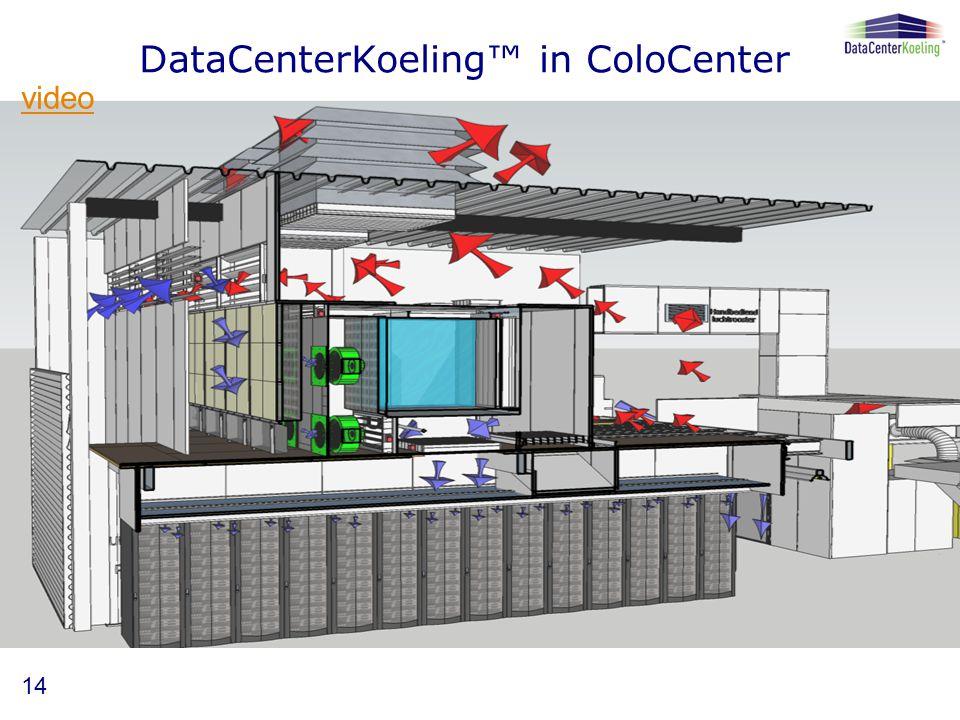 DataCenterKoeling™ in ColoCenter 14 video
